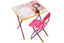 Мебель детская  Никки (стол+стул мягкий) Принцесса КП2/17 НИКА