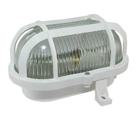 Светильник НПБ 01-60-002/03-60-003 с решеткой белый со стеклом Фотография_0