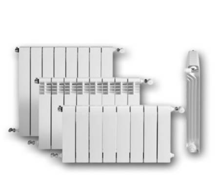 Радиатор алюминиевый ОАЗИС 100/500 4 секц  Фотография_0