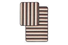 Набор ковриков SHAHINTEX PP LOOP LOOP icarpet кофе с молоком (50х80/50х40 см)