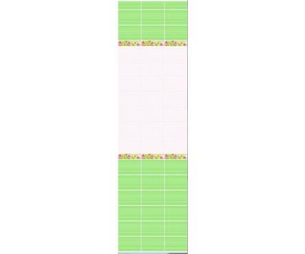 ПВХ Панель NOVITA 3D 2700*250*9мм Орхидея ФОН