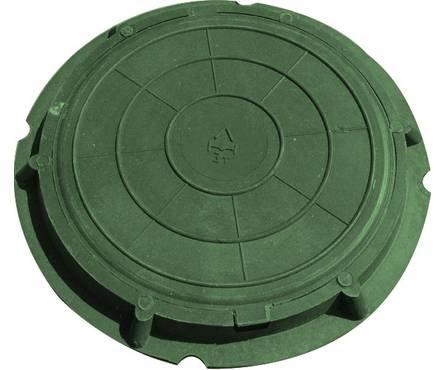 Люк легкий садовый 760/90 (А-30/5тн) зеленый