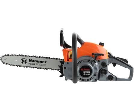 Бензопила Hammer Flex BPL3814 LE, 1.2кВт, 37,2см3, шина 14 цепь 3/8-1.3мм-52 Фотография_0