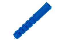 Дюбель с шипами потайной, пластиковый, универсальный 10х60 мм