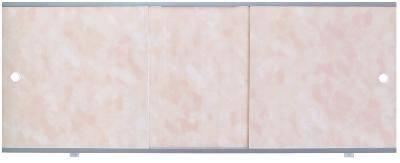 Экран для ванны Премиум А 1,7 облака розовые