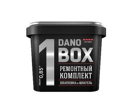 Шпаклевка DANO BOX1 комплект для экспресс ремонта (шпатель и шпатлевка) 0,85л/1кг Фотография_0
