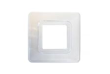 Прокладка под выключатель Кунцево-электро, прозрачная
