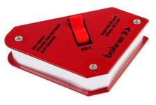 Магнитный угольник для сварки Bohrer ON 71510130, отключаемый, 45°\90°\135° 30LBS (до 11 кг удержание)
