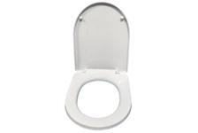 Сиденье для унитаза Ани Пласт WS0300 белое, пластик