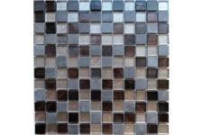 Мозаика Caramelle Mosaic Naturelle Alcantara Nero 298х298х8 мм, чип 23х23 мм
