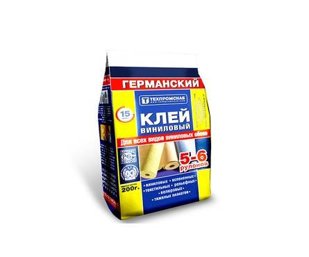 Клей для обоев Exclusive Германский виниловый 0,2 кг Фотография_0