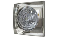 Вентилятор осевой с обратным клапаном D100, AURA 4C Chrome