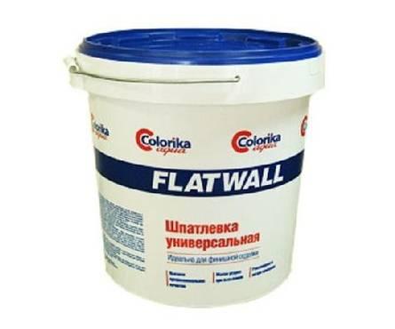 Шпатлевка Flatwall универсальная белая 6кг Фотография_0