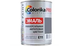 Эмаль Colorika Prof, голубая акриловая универсальная 0,9 кг