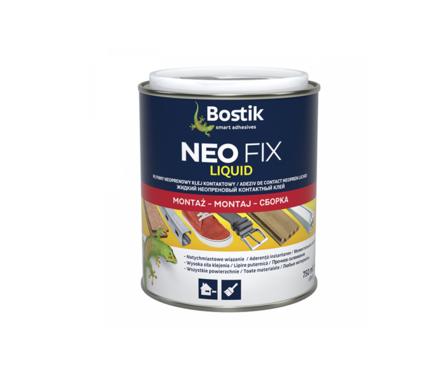 Клей BOSTIK NEO FIX неопреновый, контактный жидкий, 250 мл Фотография_0