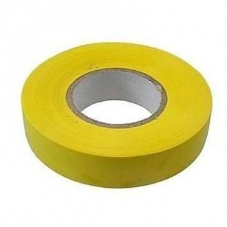 Изолента ПВХ СИБРТЕХ, 19 мм х 20 м, желтая Фотография_0