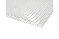 Поликарбонат Sotalux 12000х2100х6 мм, бесцветный (1 лист/25.2 м²)