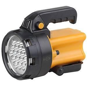 Фонарь светодиодный Прожектор, аккумуляторный, подставка, 19 светодиодов 60 лм/Вт TDM Фотография_0