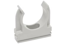 Крепеж-клипса для трубы IEK 25 мм (упак.50 шт)
