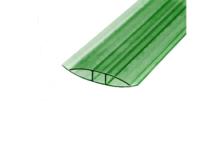 Профиль соединительный НP,  4 - 6 мм, зеленый
