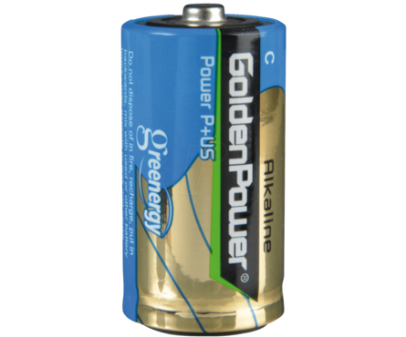 Элемент питания GOLDEN POWER LR20-2BL