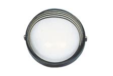 Светильник банный Italmac круг с ресничками, 60 ВТ, черный