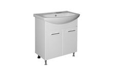 Тумба Mixline Росток 65 для ванной с умывальником Элеганс 65 (ПВХ)