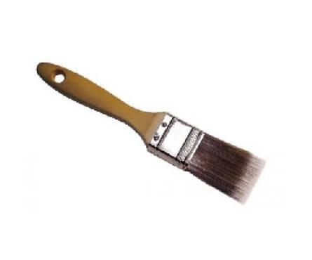Кисть плоская Эксперт искуственная щетина,деревянная ручка 1 КЕДР