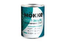 Грунт-эмаль Mokke по ржавчине 3 в 1, зеленая (0.9 кг)