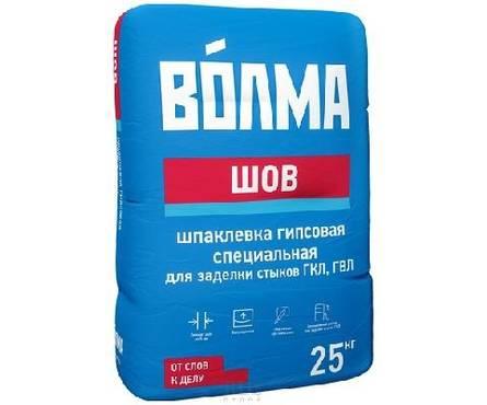 Шпаклевка ВОЛМА Шов гипсовая 5кг (240) Фотография_0
