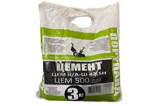 Цемент ВТВ ЦЕМ II/А-Ш 42.5 Н, (ЦЕМ 500 Д20) белый, 3 кг