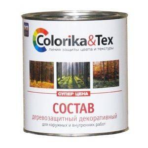 Пропитка для дерева Colorika&Tex сосна 0,8л Фотография_0