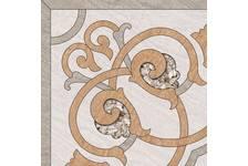 Декор Березакерамика Рамина 418х418 мм, бежевый