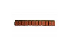 Планка цокольная VOX SM 13х90 мм, коричневый жженый