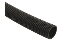 Труба ПВХ гофрированная с зондом, диаметр 16 мм, черная