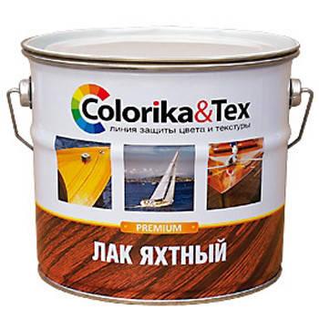 Лак яхтный Colorika&Tex глянцевый 2,7 кг Фотография_0