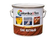 Лак яхтный Colorika&Tex глянцевый 2,7 кг