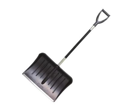 Лопата для снега №13, 530*370 мм со съемным алюм. черенком Фотография_0