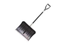 Лопата для снега №13, 530*370 мм со съемным алюм. черенком