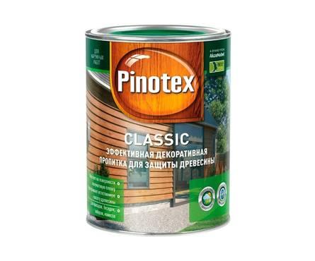 Пропитка Pinotex Classik Тик (д/наруж. работ) 9л. Фотография_0