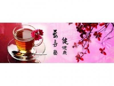 Фартук для кухни ХДФ 2070*695*3мм 1,44м2/шт цв Элит чайная симфония