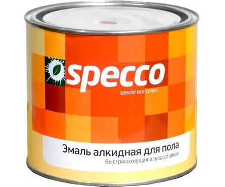 Эмаль для пола золотисто-коричневая SPECCO ПФ-266 1,9кг