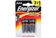 Элемент питания Energizer  MAX AA 3+1шт. 7800(1*24)