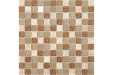 Мозаика Caramelle Mosaic Naturelle Amber 305х305х8 мм, чип 15*15 мм