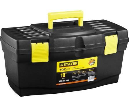 Ящик STAYER STANDARD пластиковый, 310x180x130мм, 12 Фотография_0