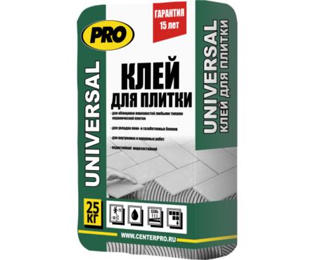 Клей для плитки PRO Универсал, 25 кг  Фотография_0