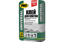 Клей для плитки PRO Универсал, 25 кг