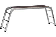 Подмости рабочие СИБИН РП-36 3x6x3 ступени алюминиевые, складные с фиксированной площадкой