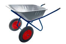 Тачка строительная Usp 2-колеса, 90 л