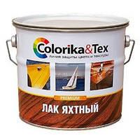 Лак яхтный Colorika&Tex полуматовый 2,7 кг Фотография_0